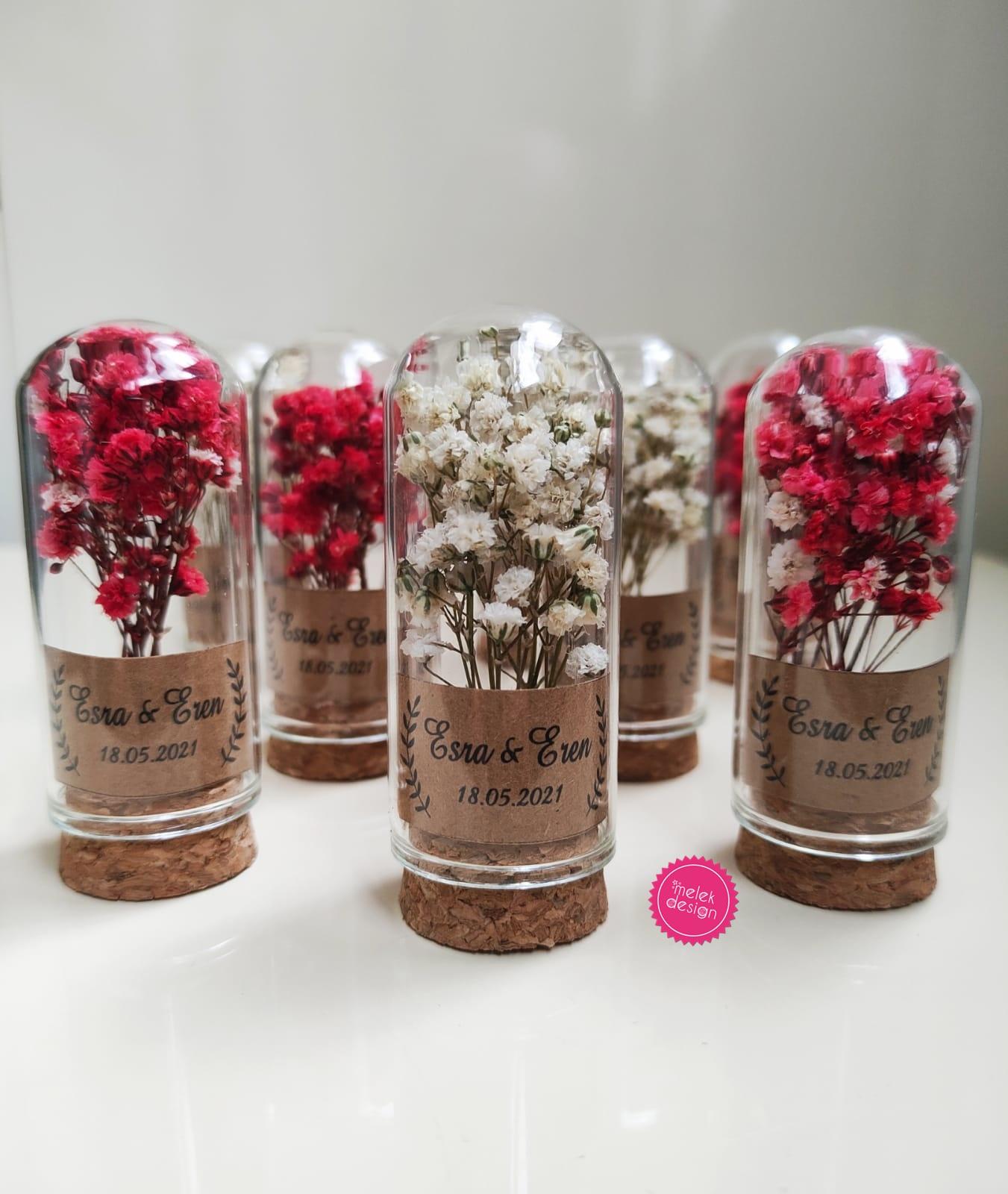 cam fanus farklı nikah hediyelikleri, nikah şekeri alternatifleri