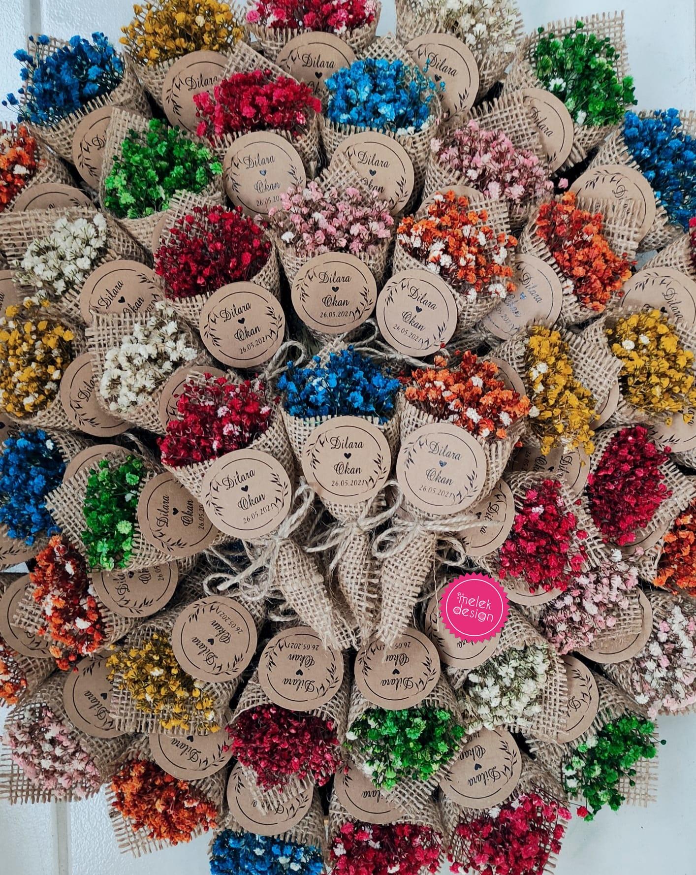 farklı nikah hediyelikleri, nikah şekeri alternatifleri